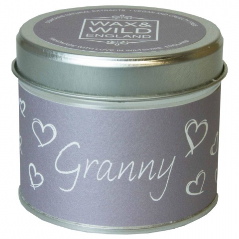 Granny - Thank You Candle In A Tin